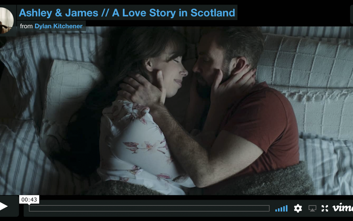 A Scottish Love Story (Trailer) // James & Ashley