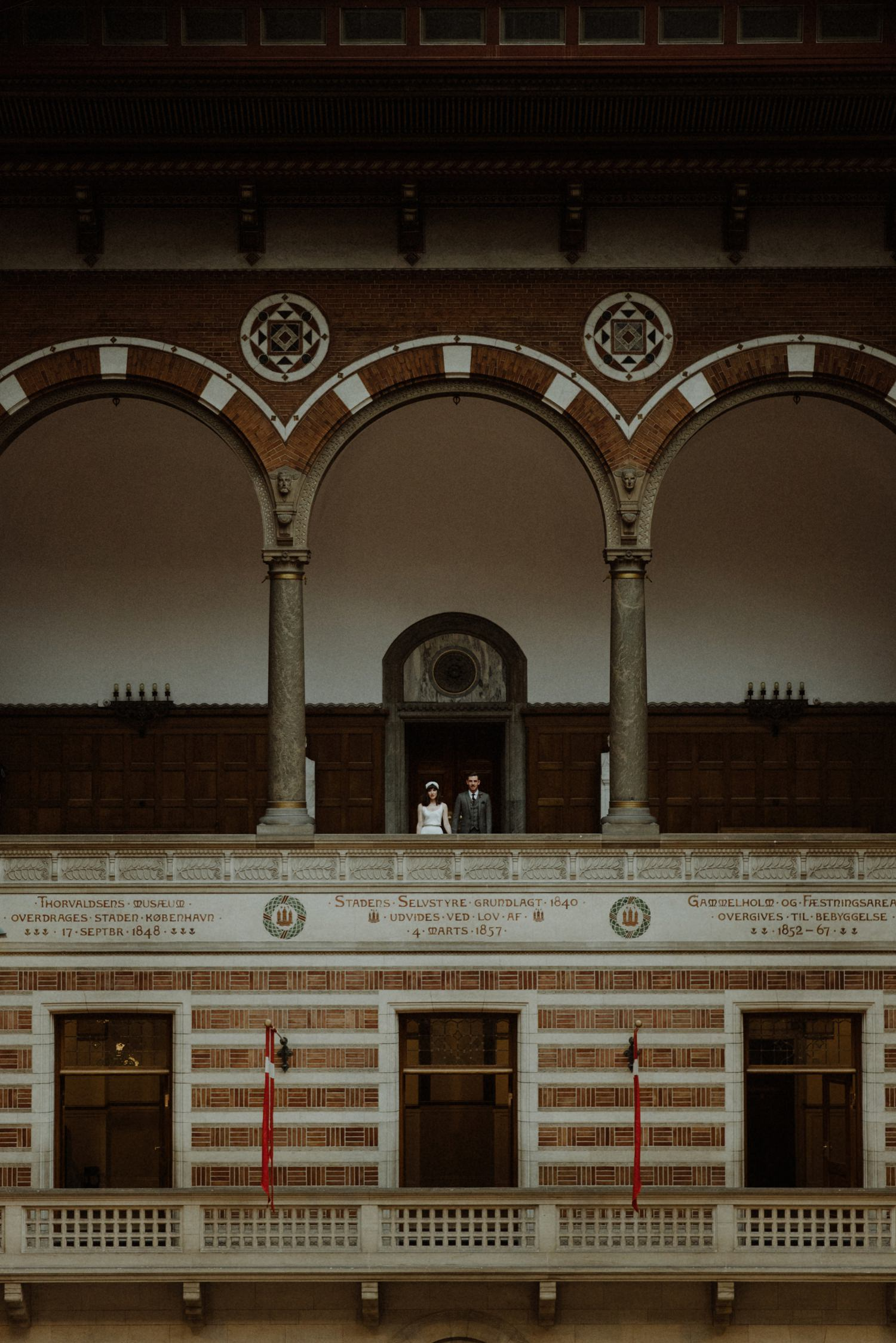 copenhagen town hall wedding