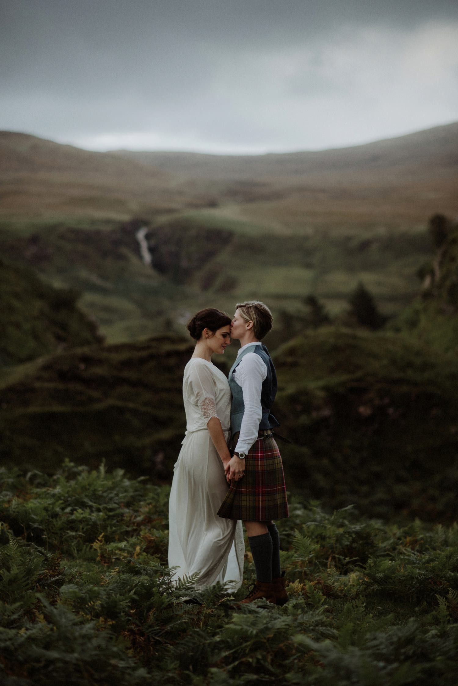 Karlyn & Kaylee // Isle Of Skye Wedding Photography