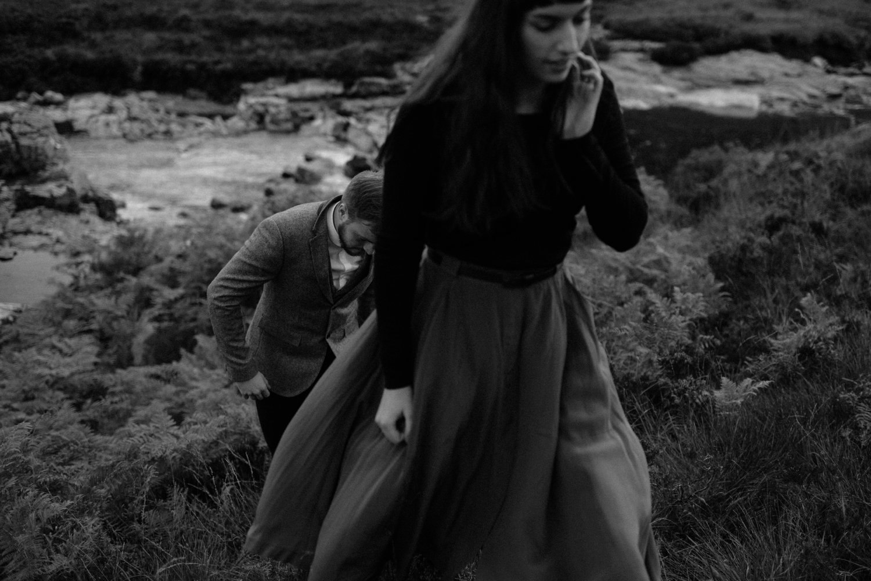 exploring scottish highlands