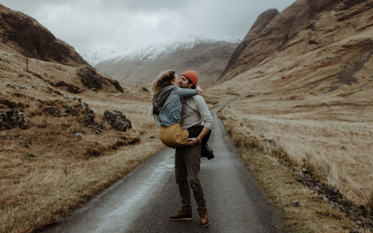 Scottish Highlands Proposal // Jodi & Zach