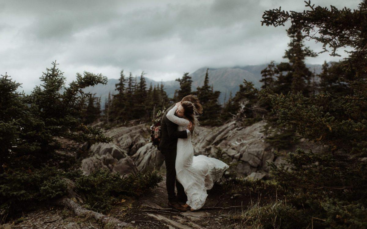 Outdoor Wedding In Alaska // Kristian & Caleb
