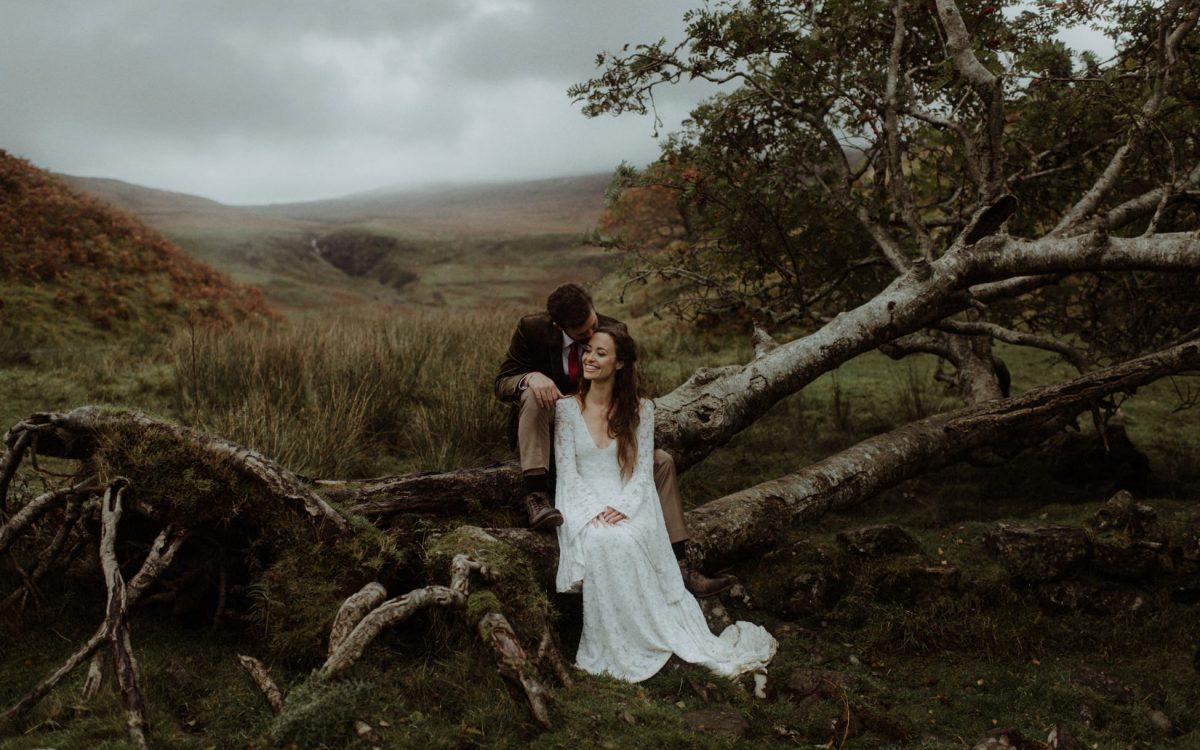 Isle of Skye Destination Wedding // Nicole & Gustav