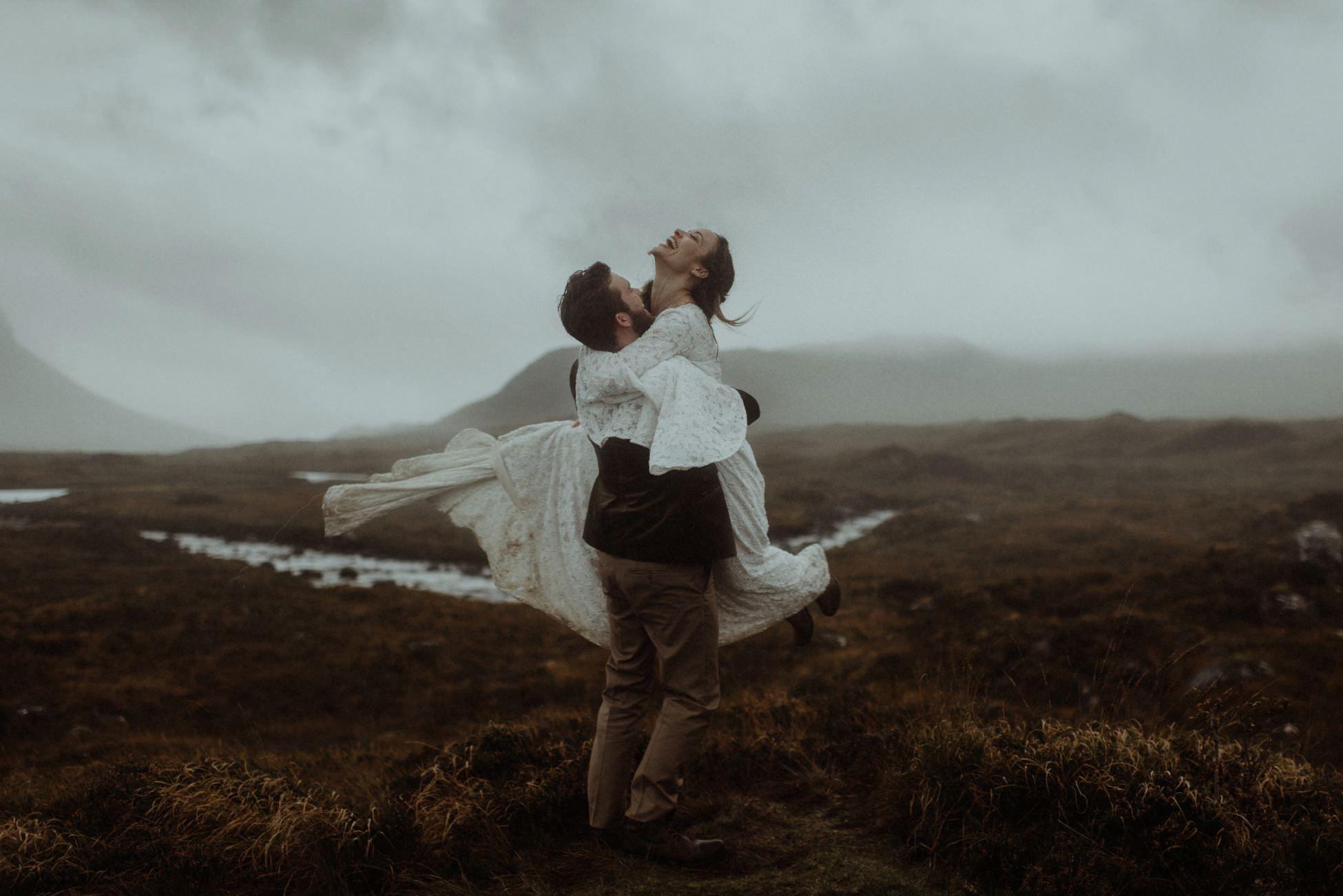 isle of Skye elopement photographer