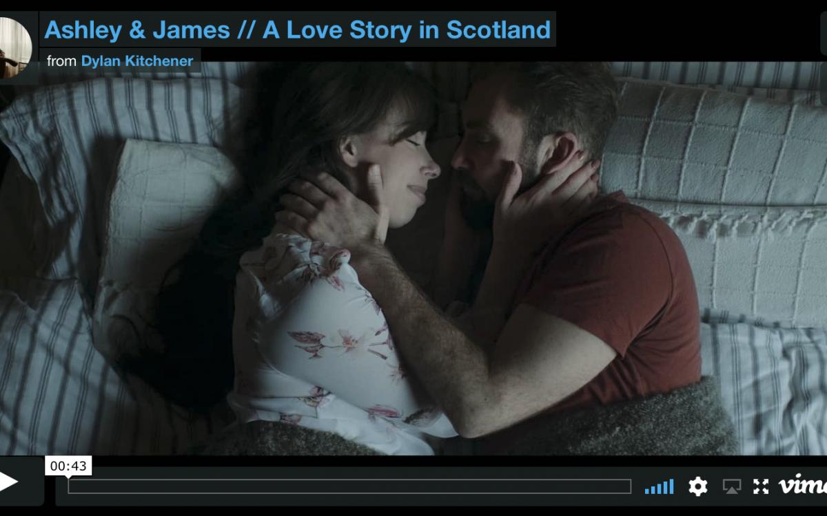 A Scottish Love Story (Trailer) // James & Ashley