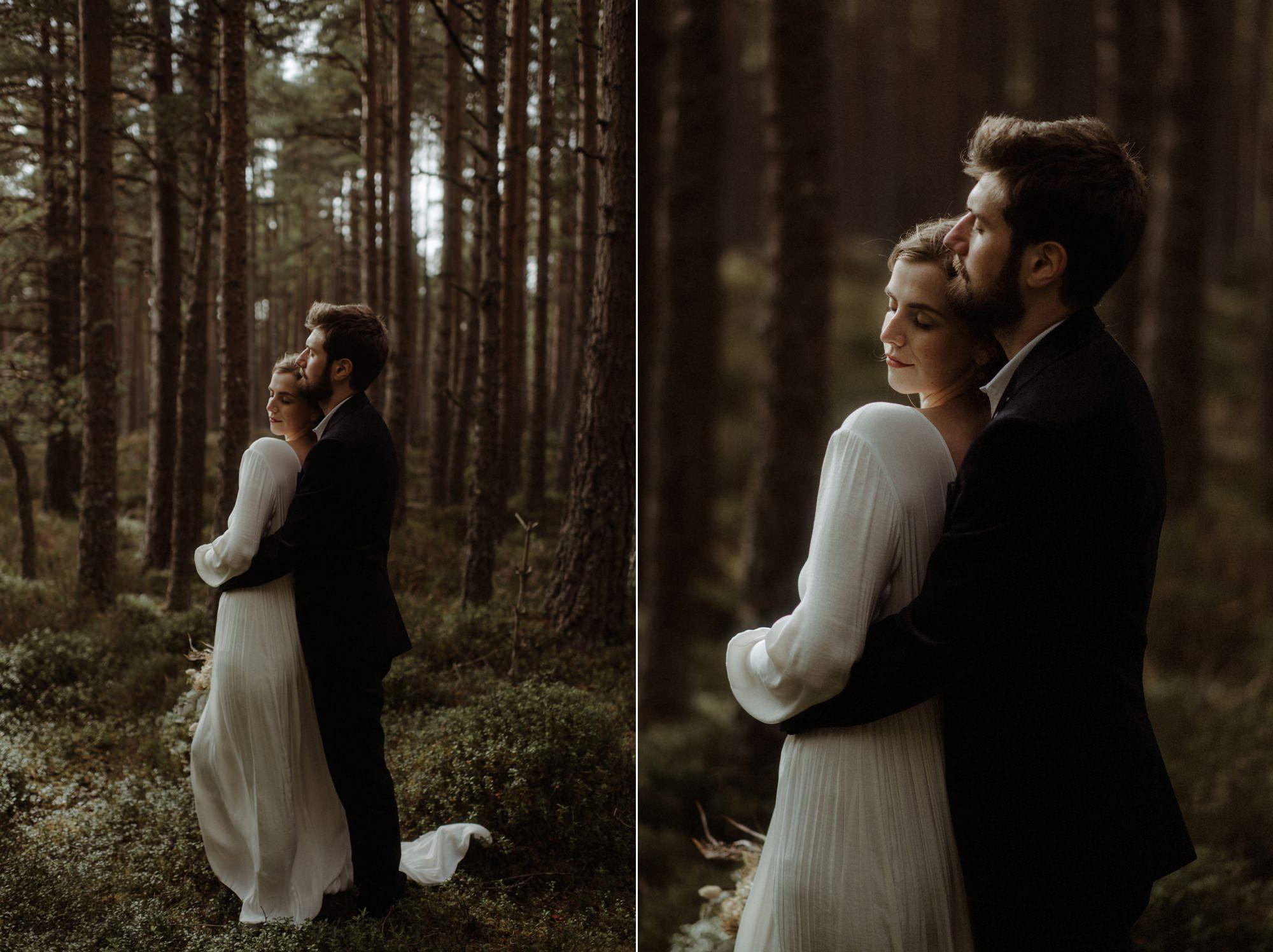 loch an eilein elopement photography 0169