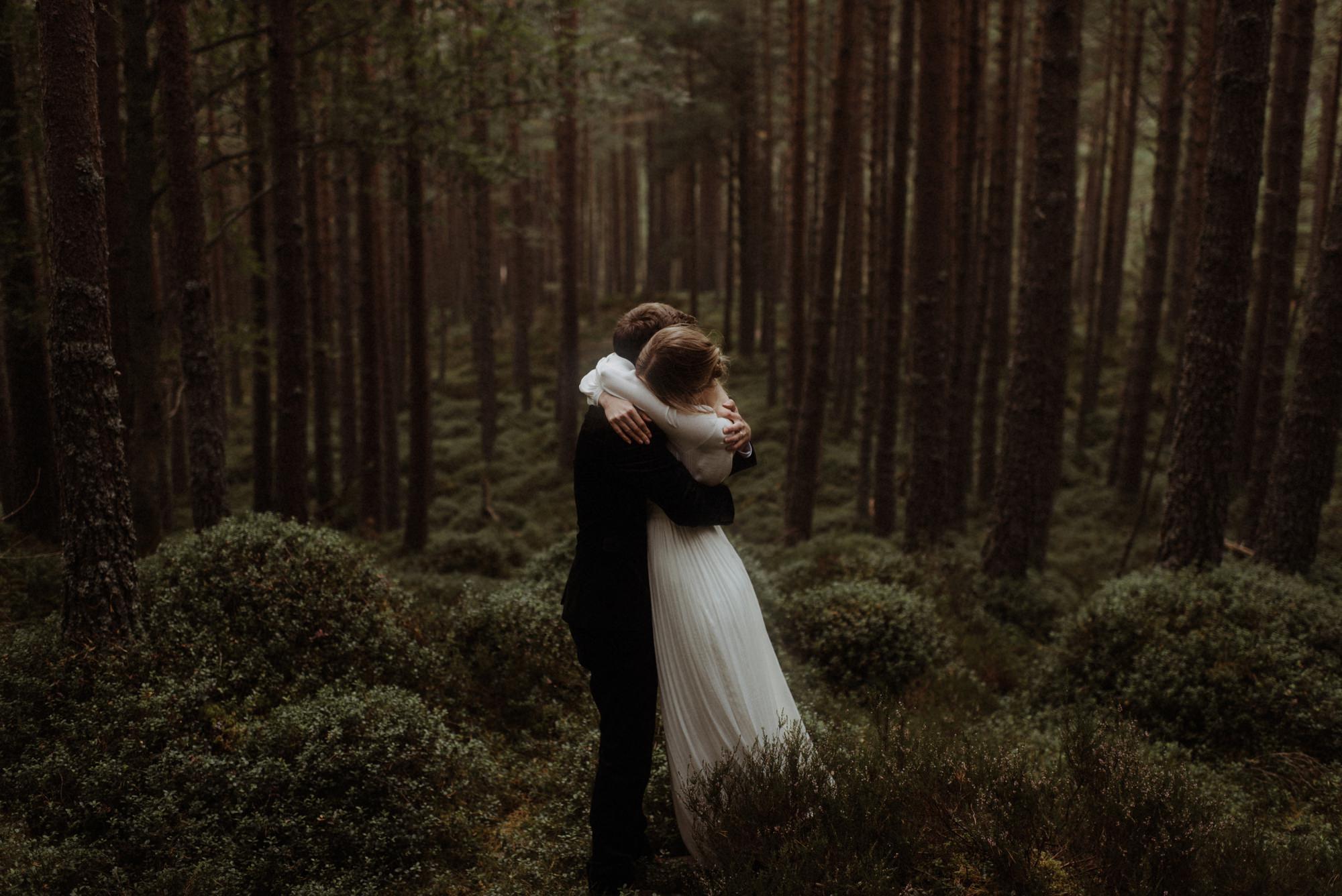 loch an eilein elopement photography 0191