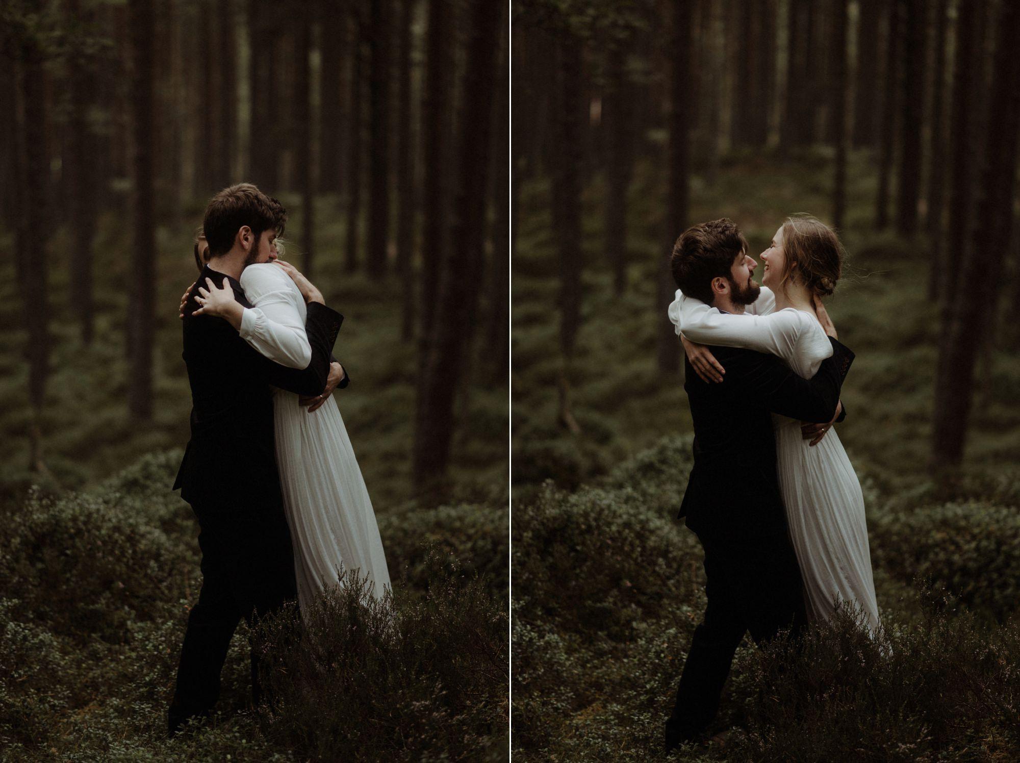 loch an eilein elopement photography 0192