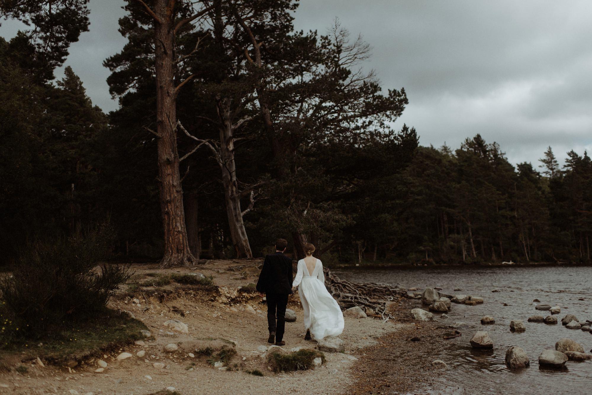 loch an eilein elopement photography 0198