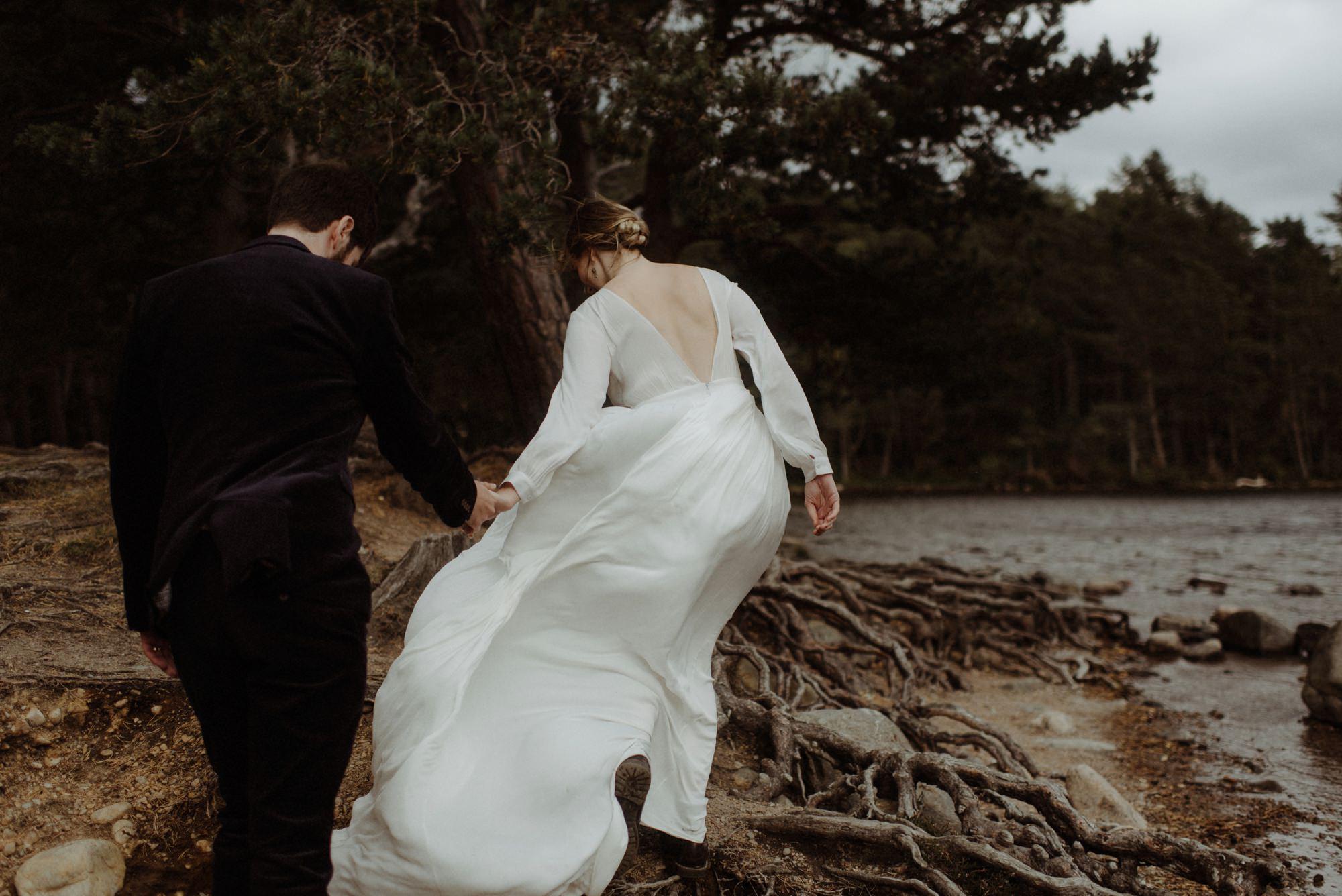 loch an eilein elopement photography 0201