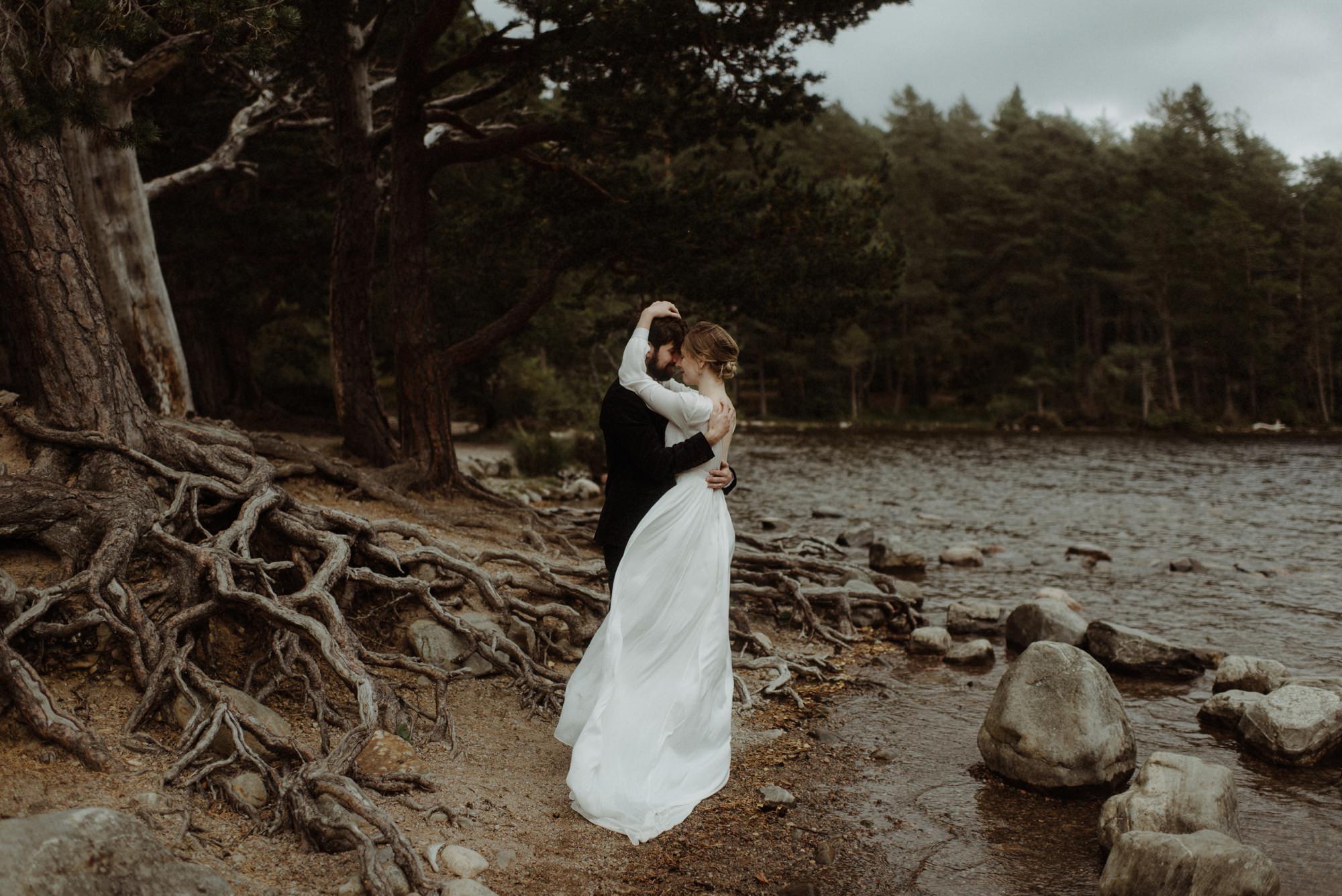 loch an eilein elopement photography 0202