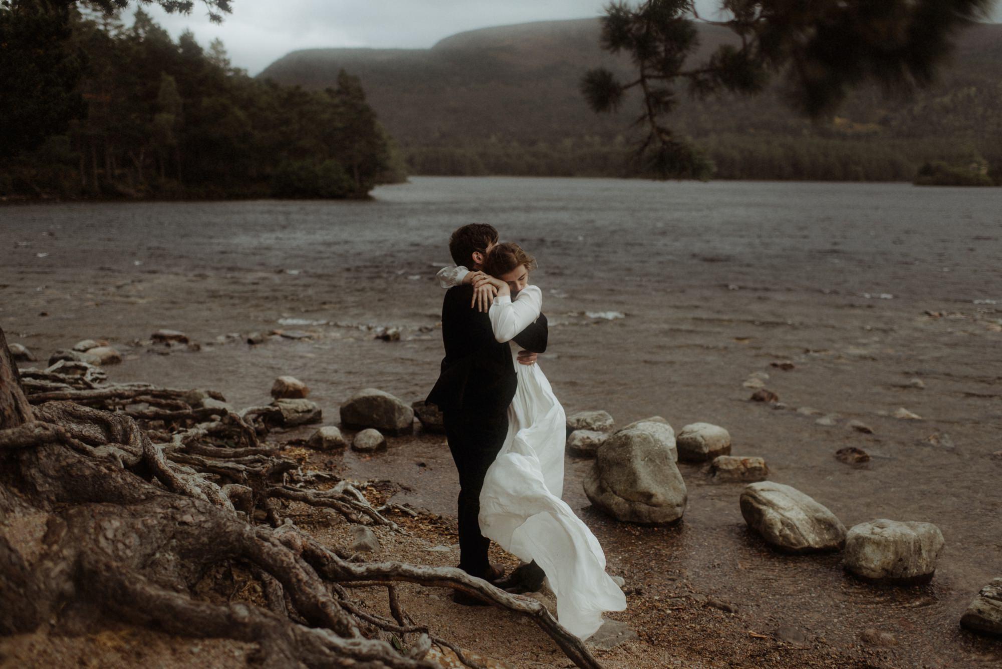loch an eilein elopement photography 0206
