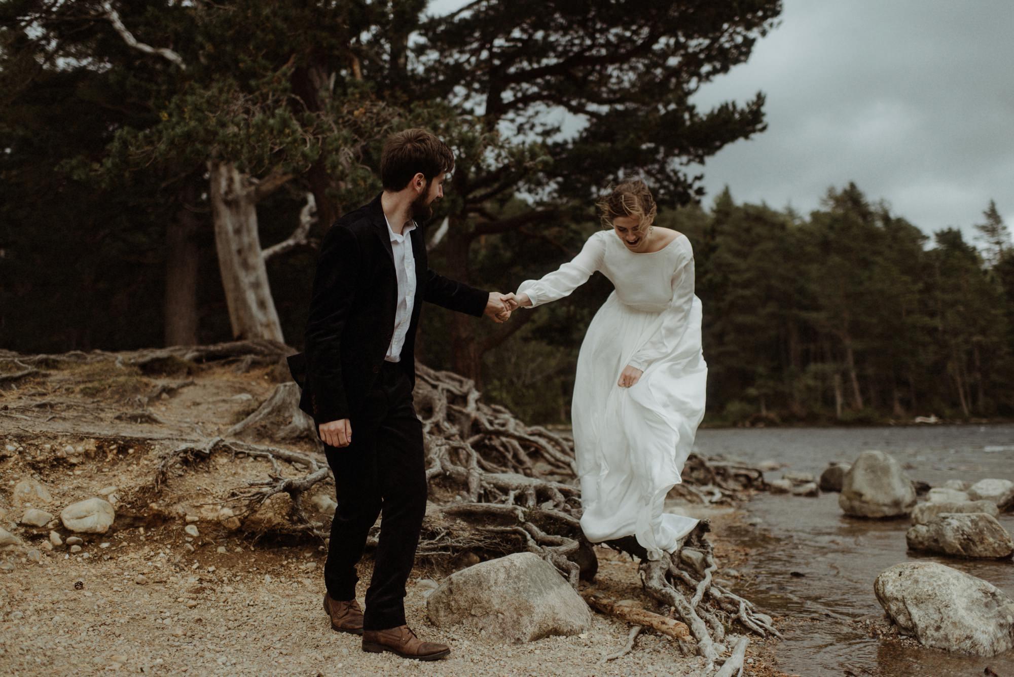 loch an eilein elopement photography 0209