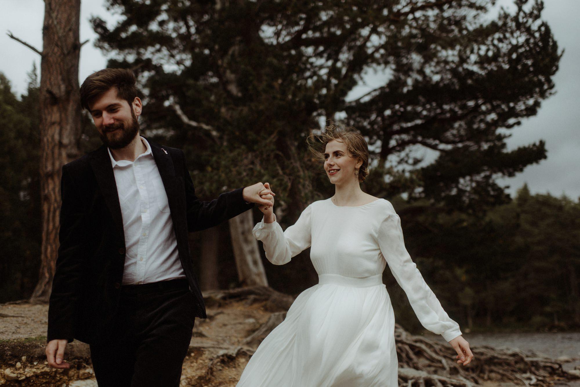 loch an eilein elopement photography 0210
