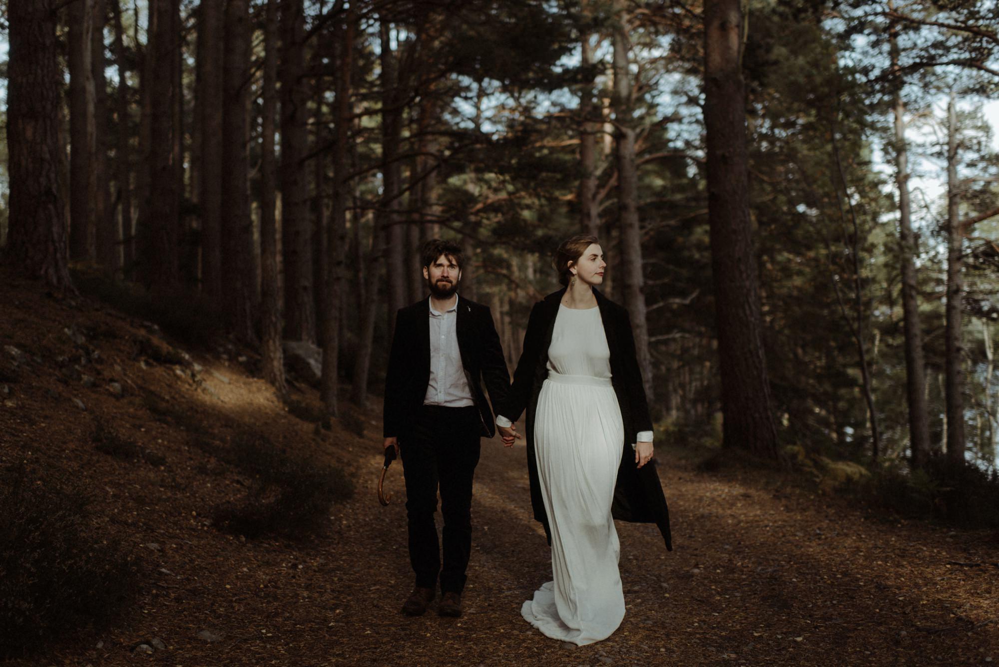 loch an eilein elopement photography 0230