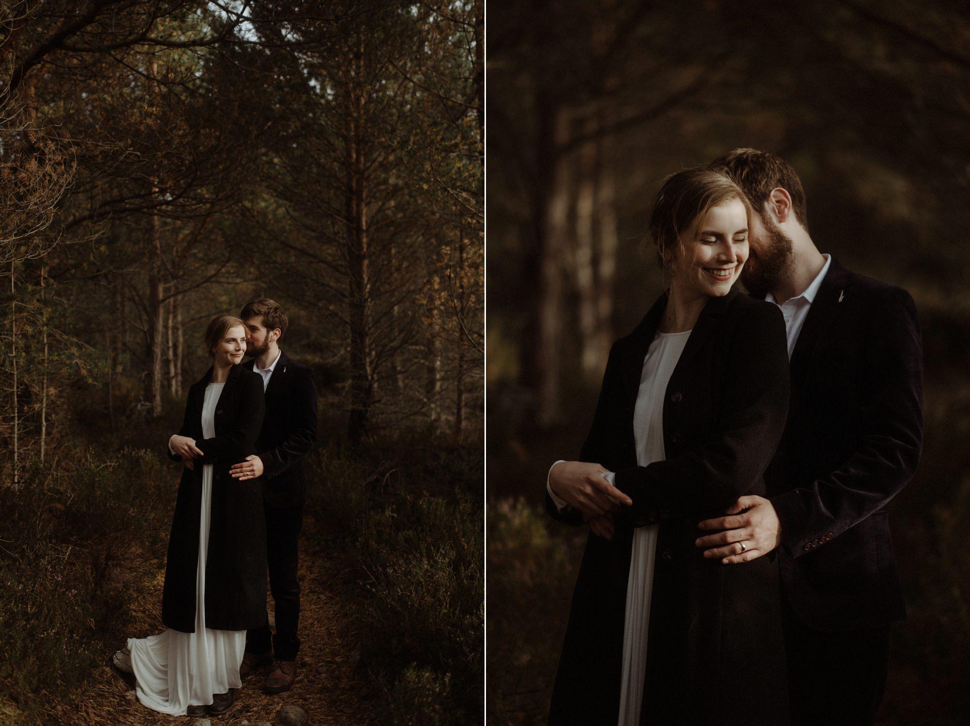 loch an eilein elopement photography 0239