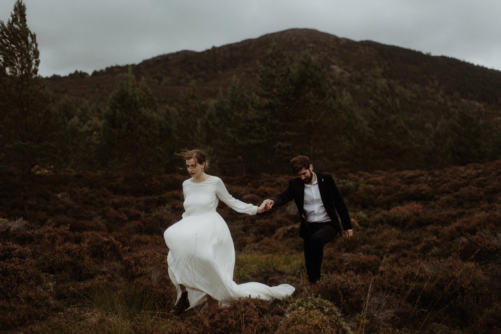 loch an eilein elopement photography 0245