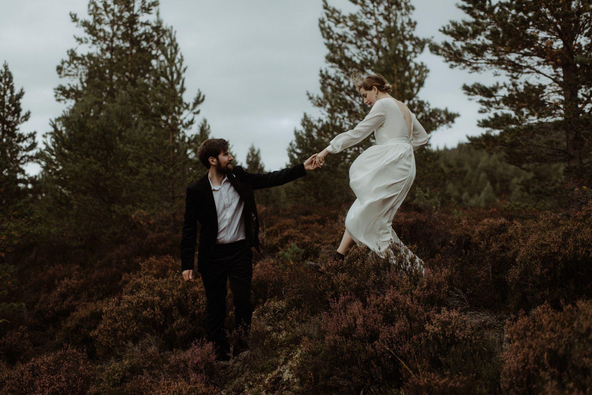 loch an eilein elopement photography 0249