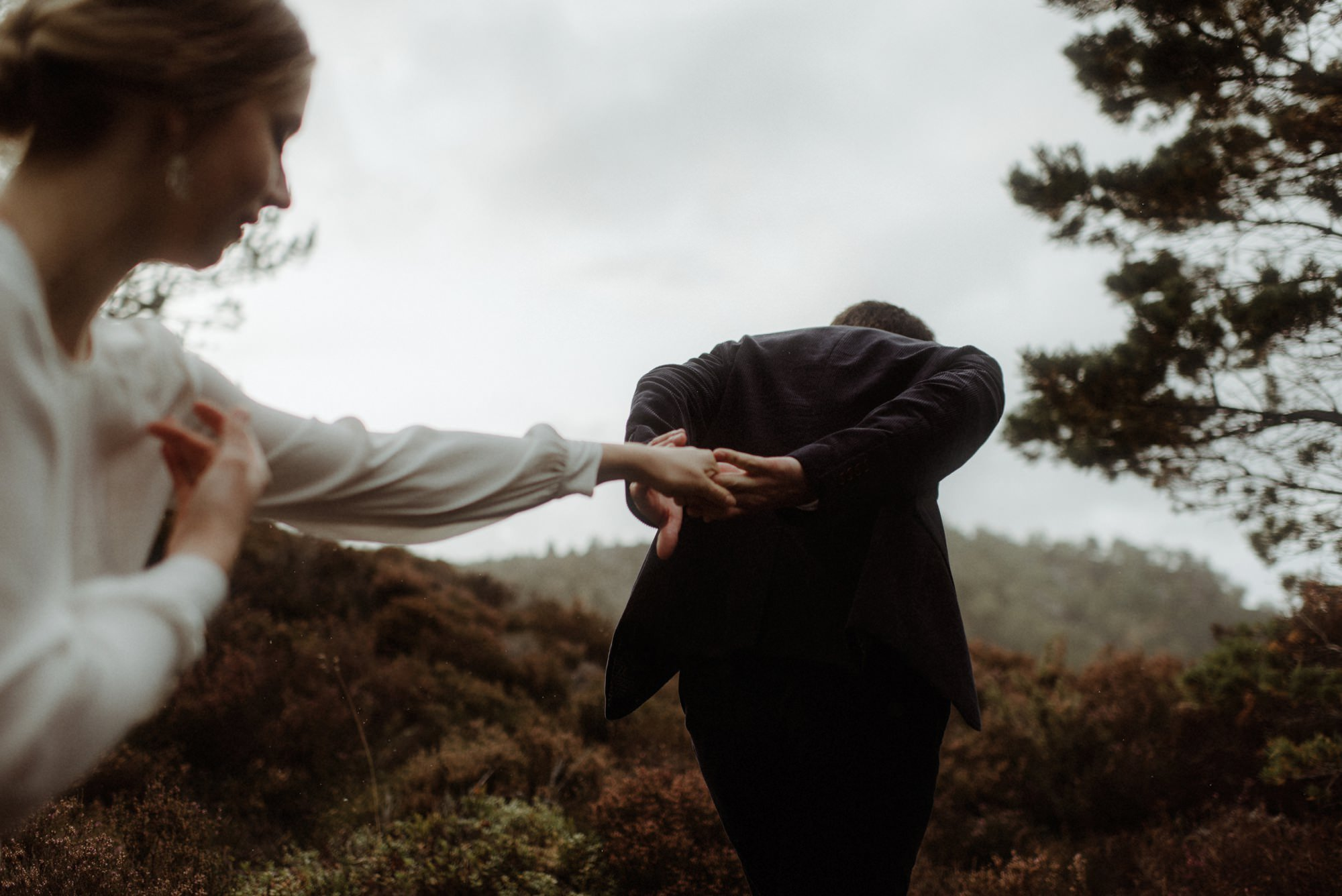 loch an eilein elopement photography 0255