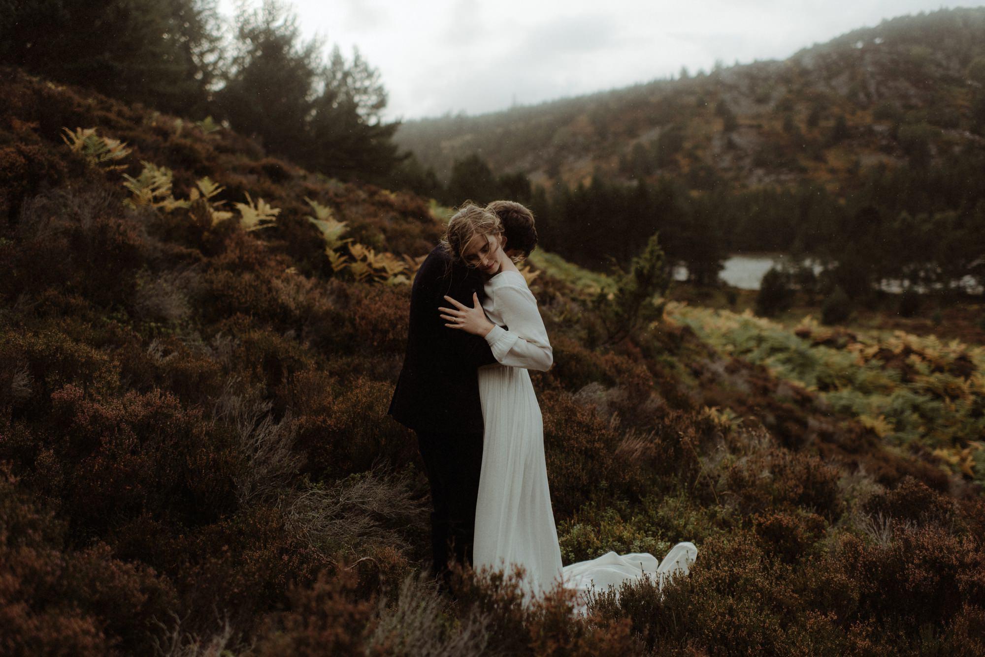 loch an eilein elopement photography 0268