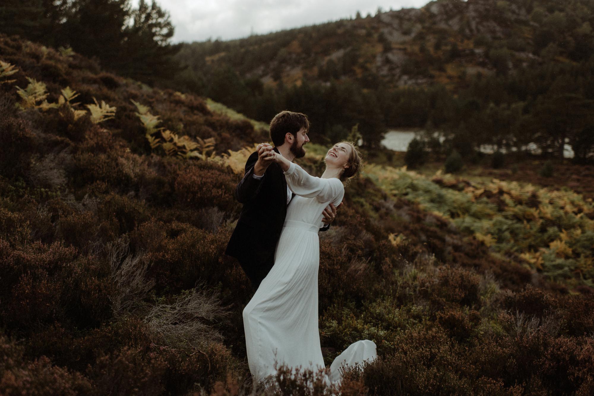 loch an eilein elopement photography 0284