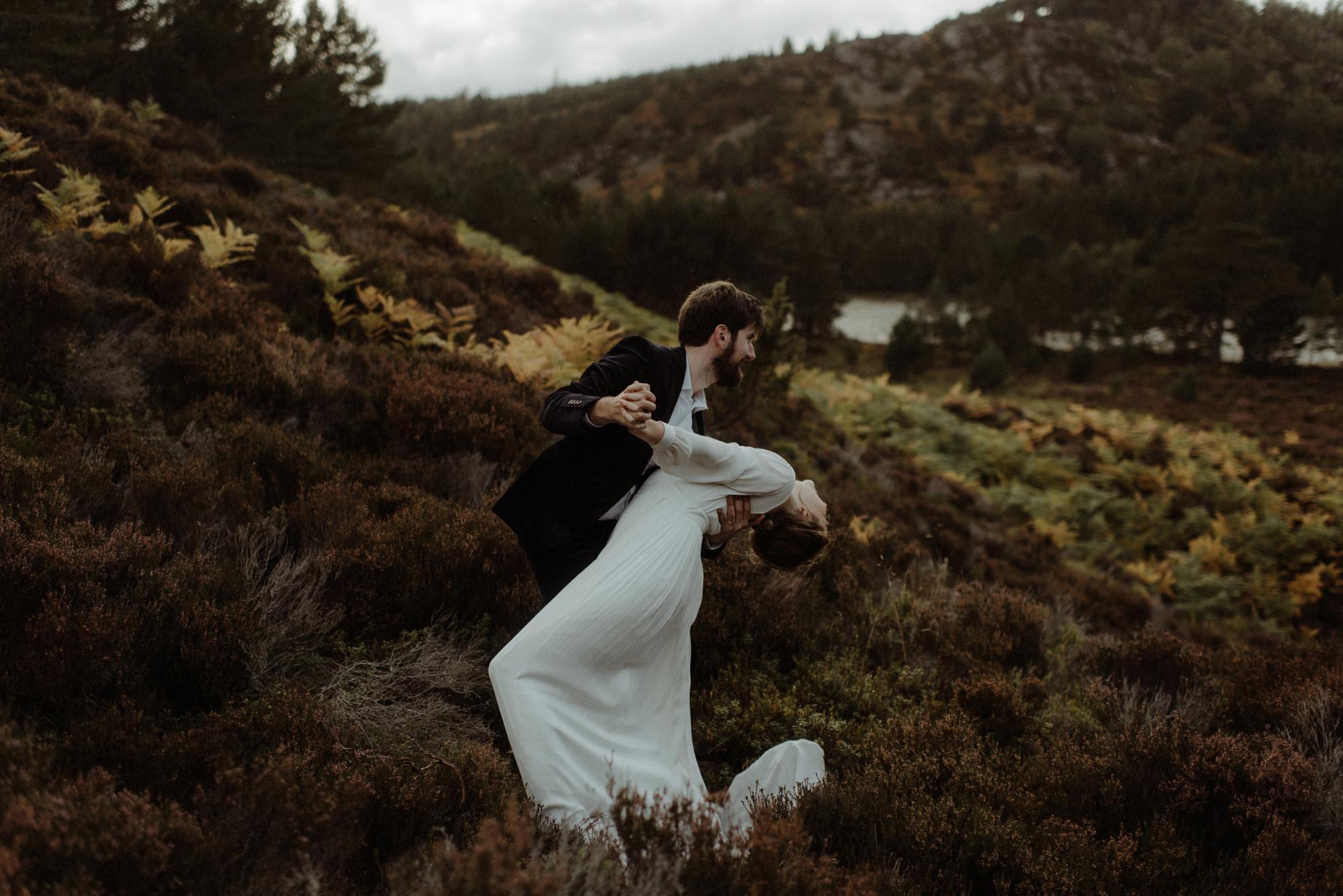 loch an eilein elopement photography 0285