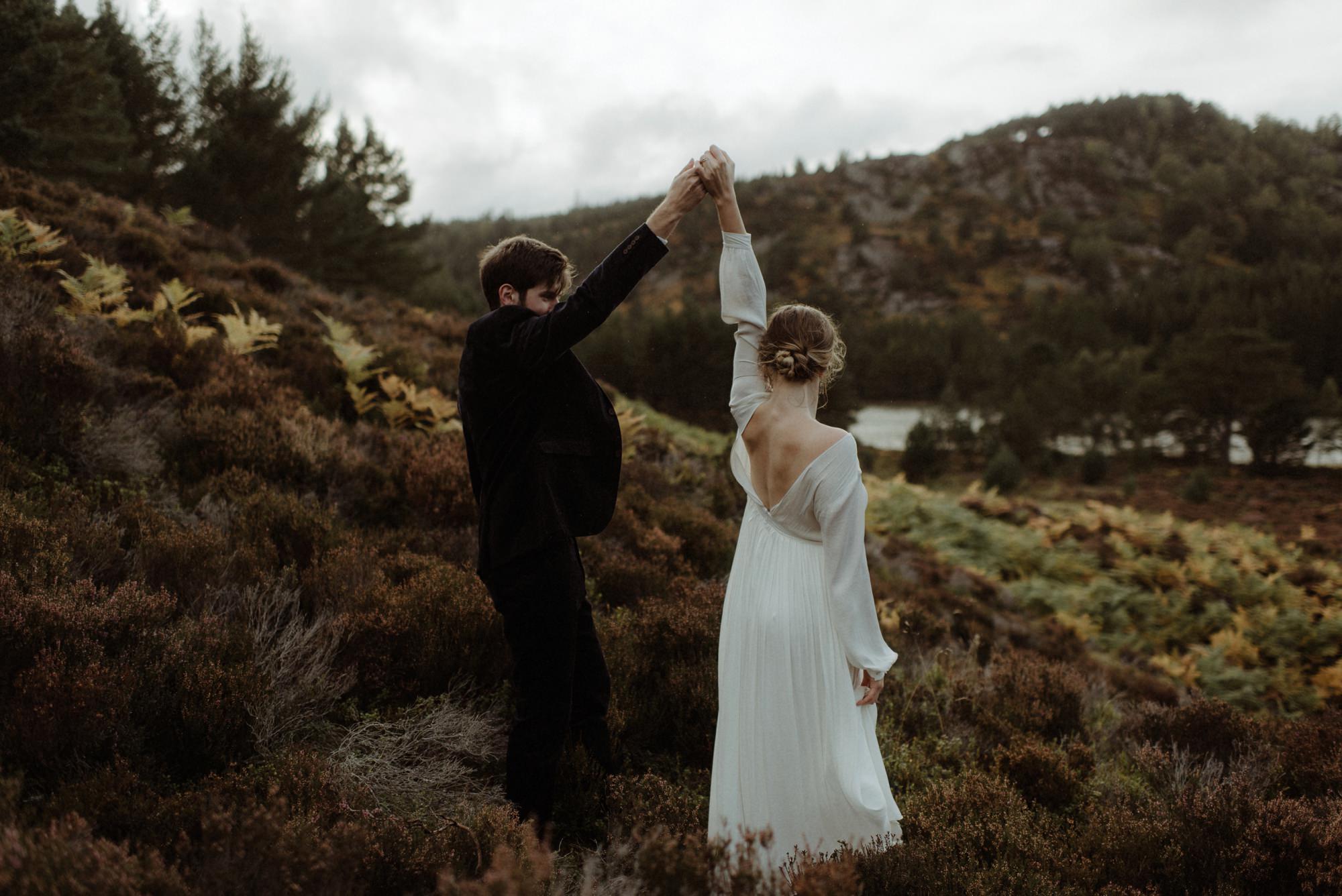 loch an eilein elopement photography 0287