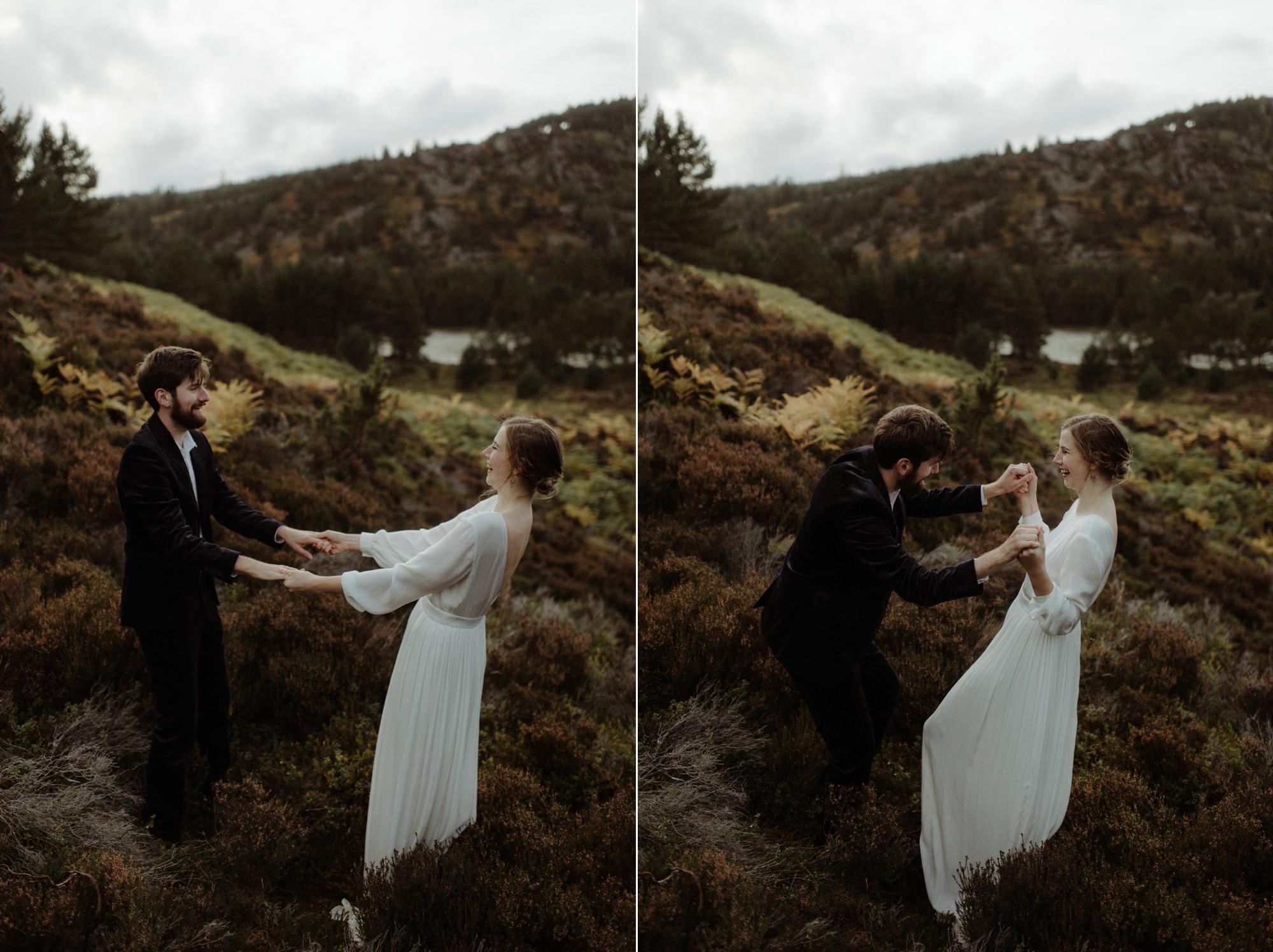 loch an eilein elopement photography 0291
