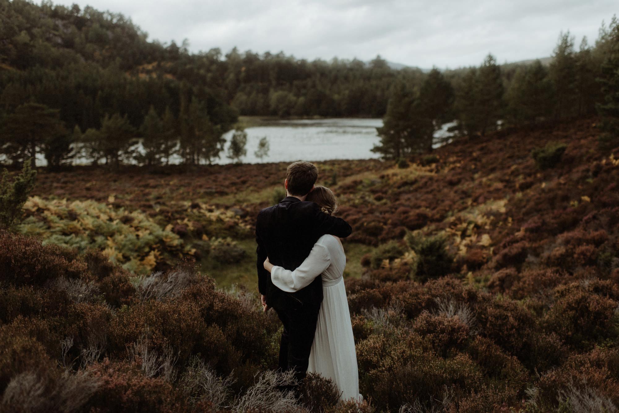 loch an eilein elopement photography 0293