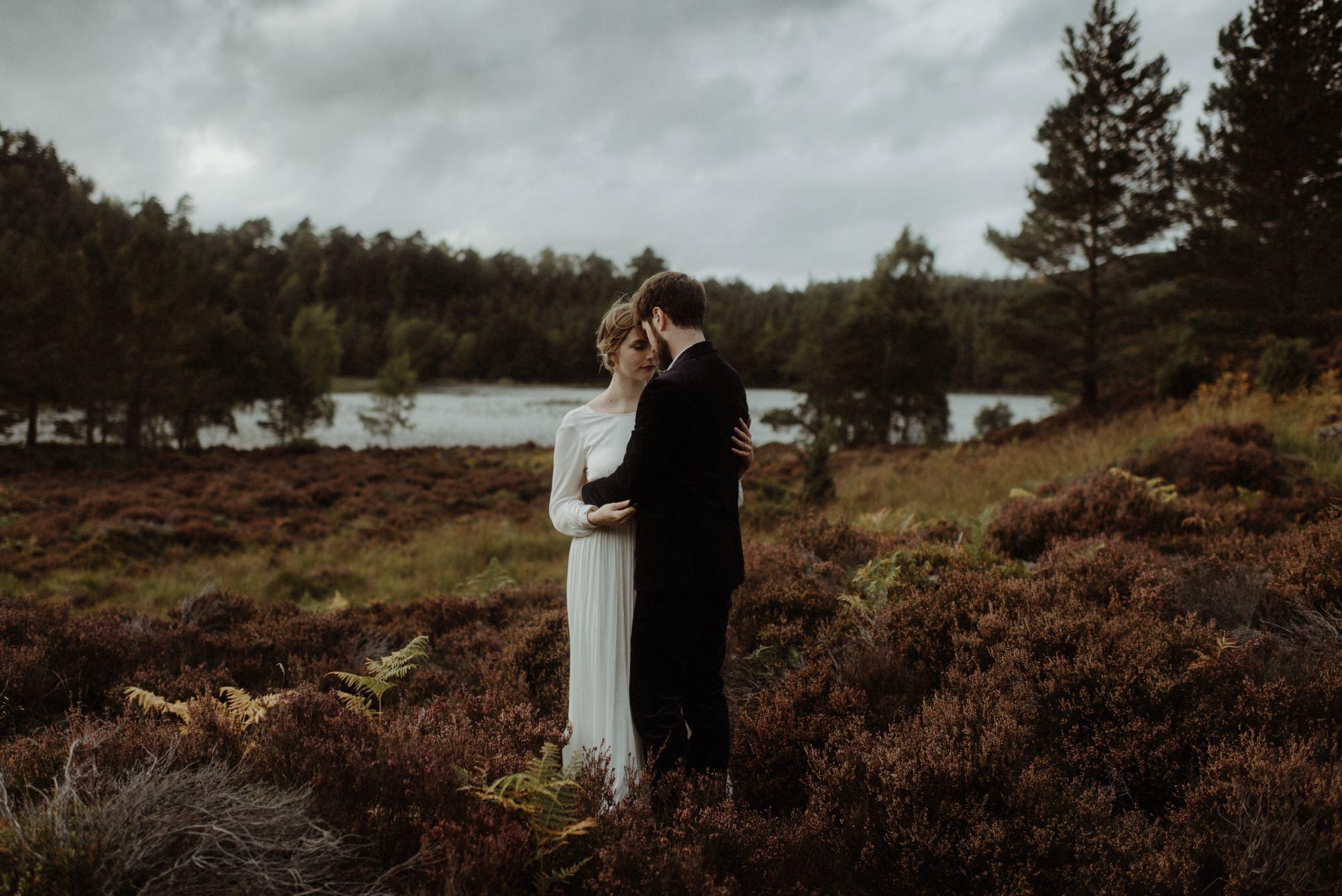 loch an eilein elopement photography 0301