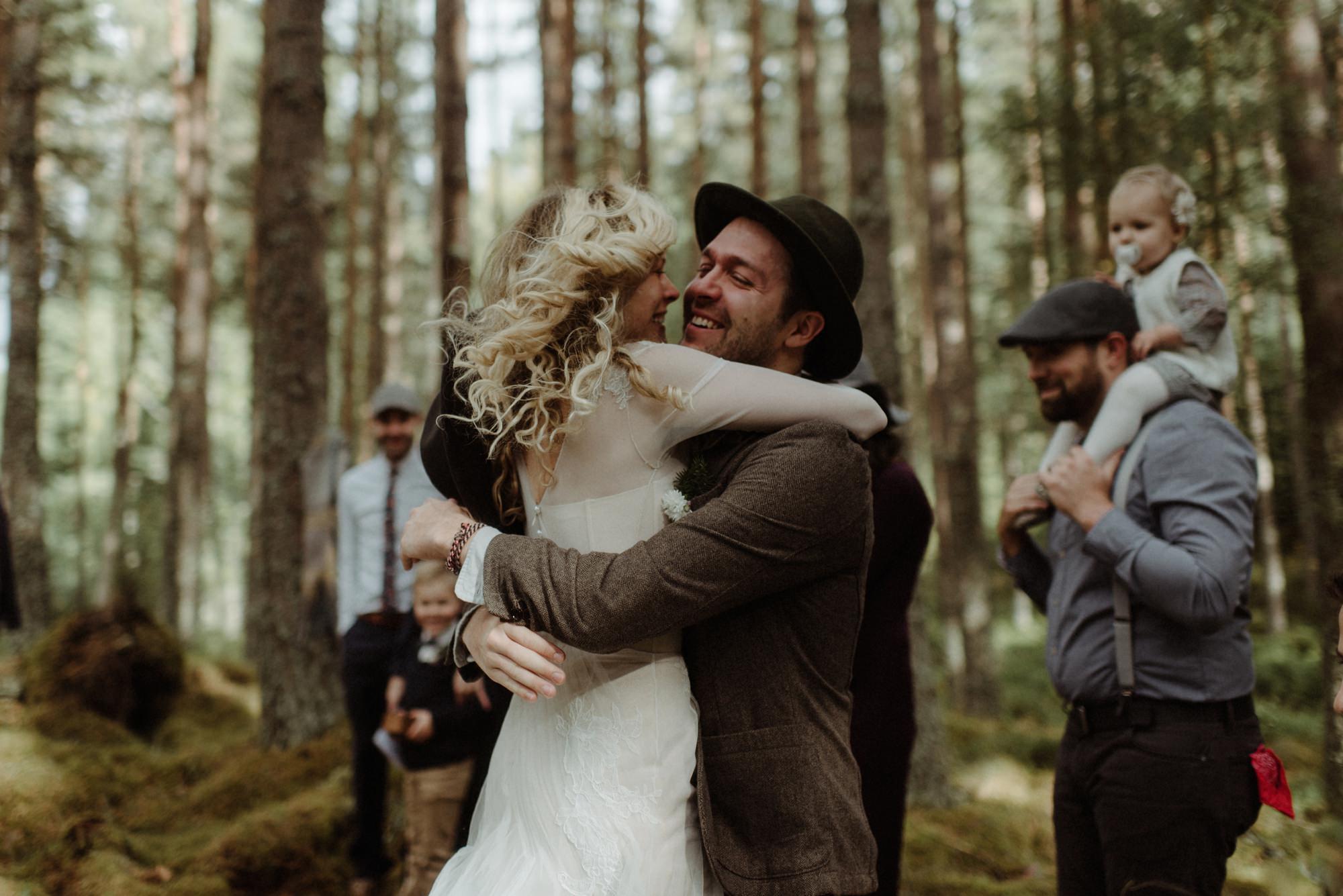 emotional wedding at inshriach house 0118
