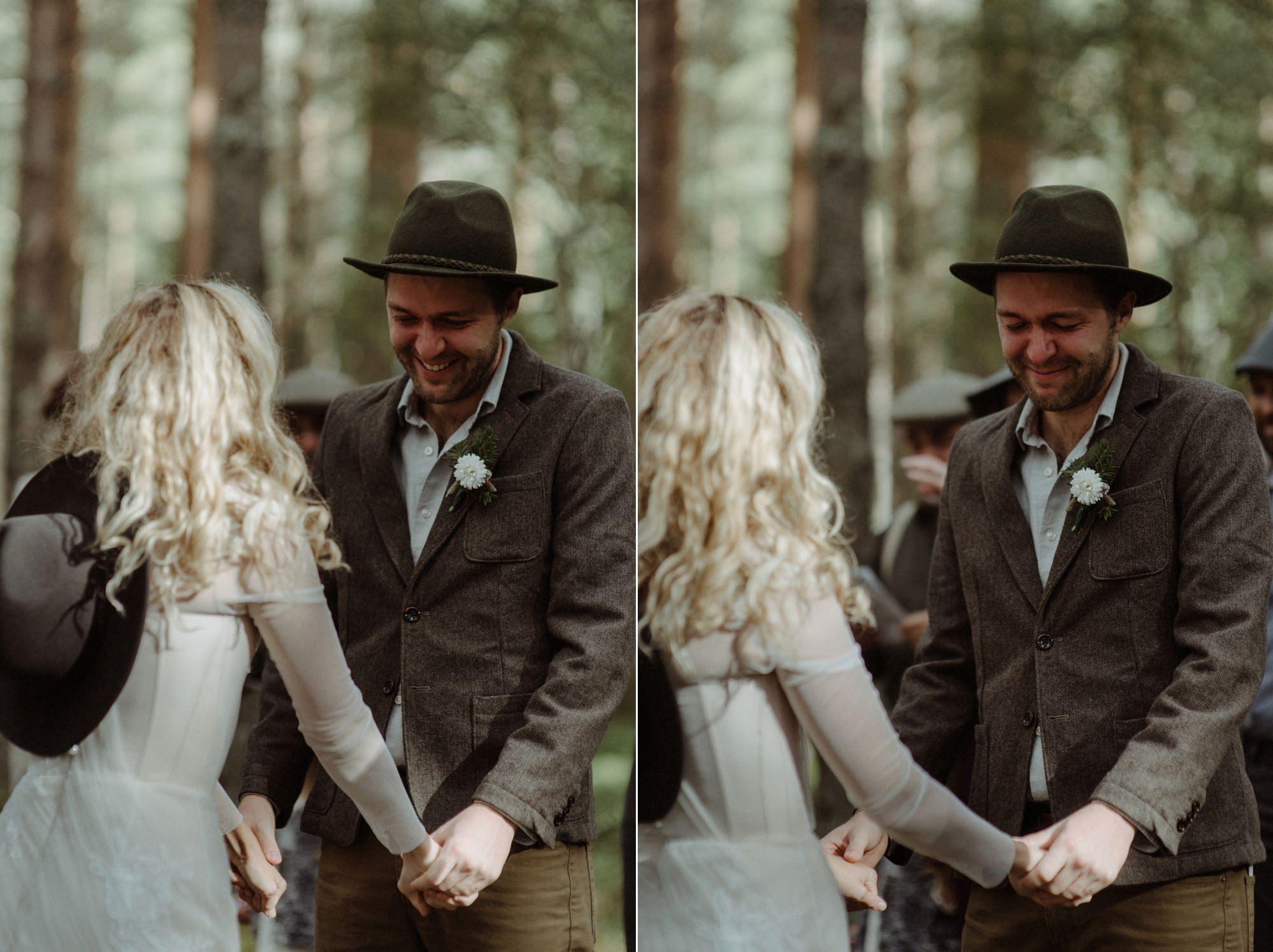 emotional wedding at inshriach house 0119