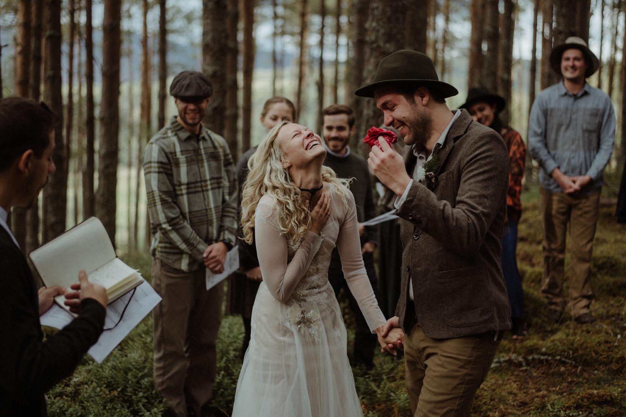 emotional wedding at inshriach house 0141