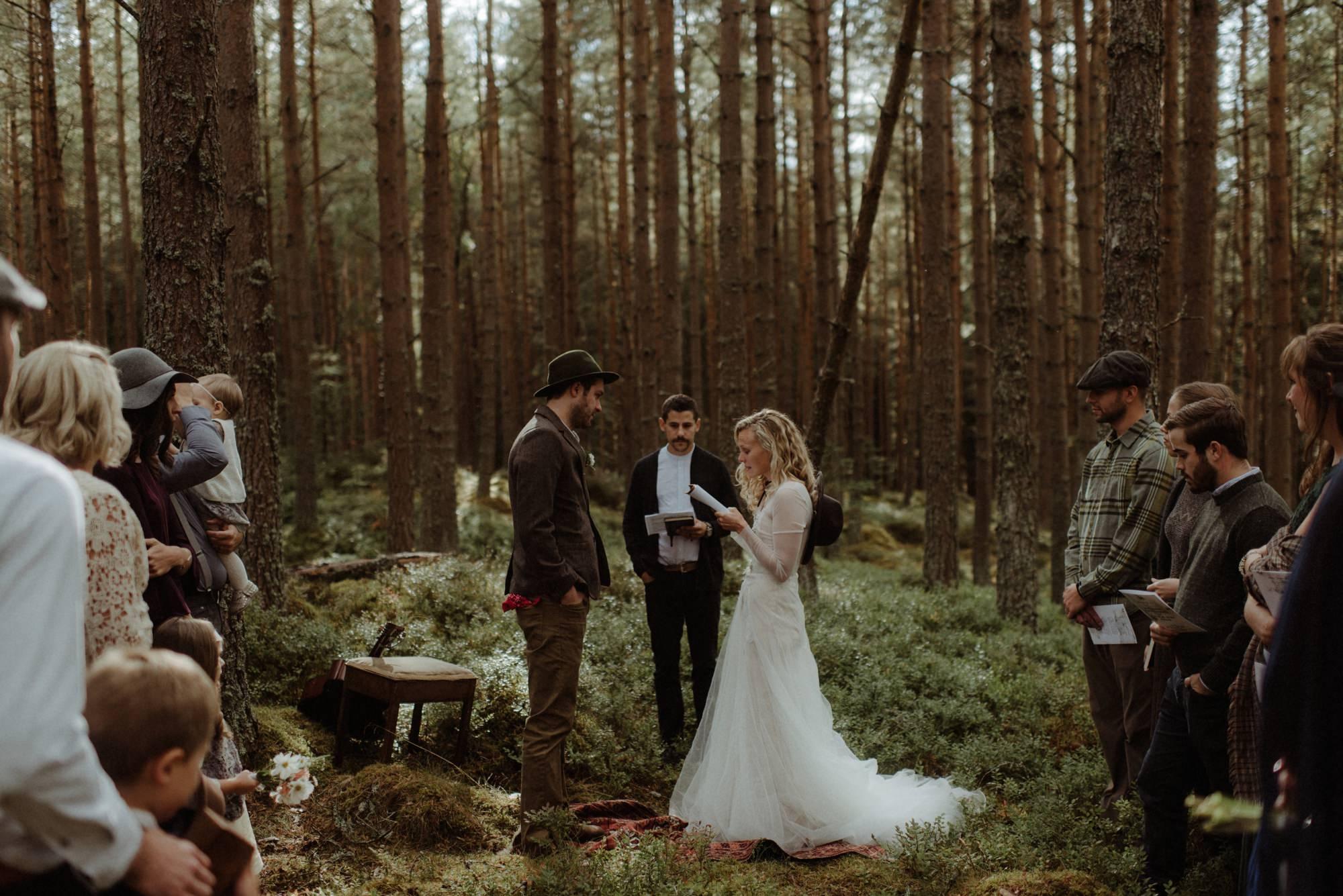 emotional wedding at inshriach house 0154