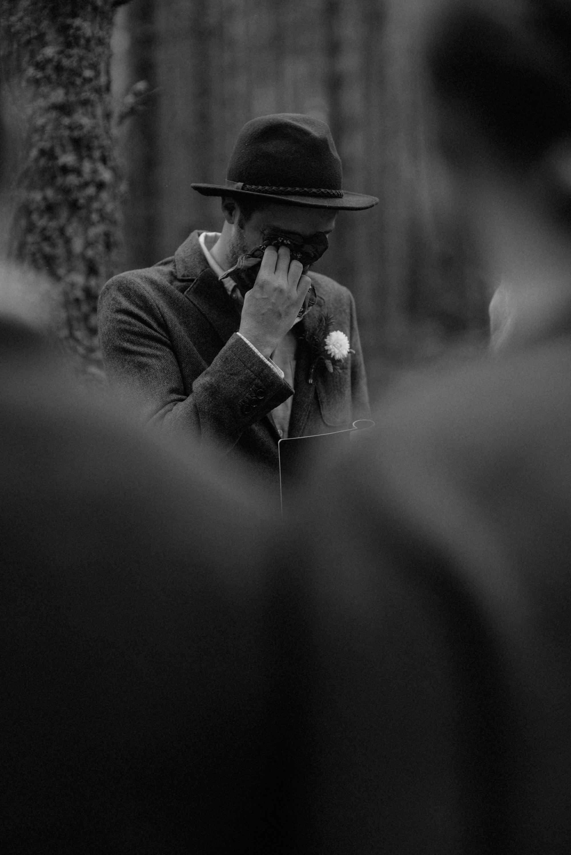 emotional wedding at inshriach house 0161