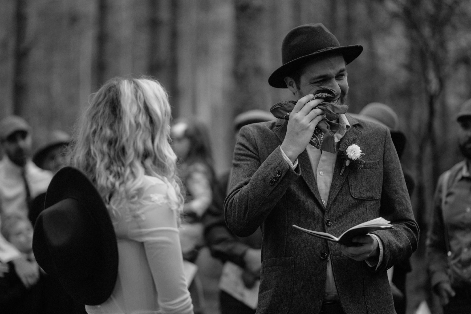 emotional wedding at inshriach house 0173
