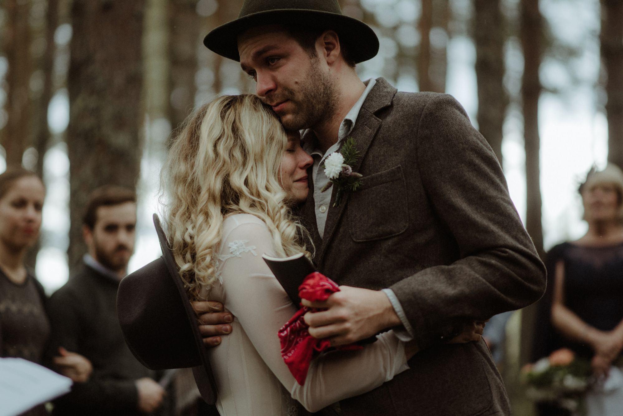 emotional wedding at inshriach house 0181