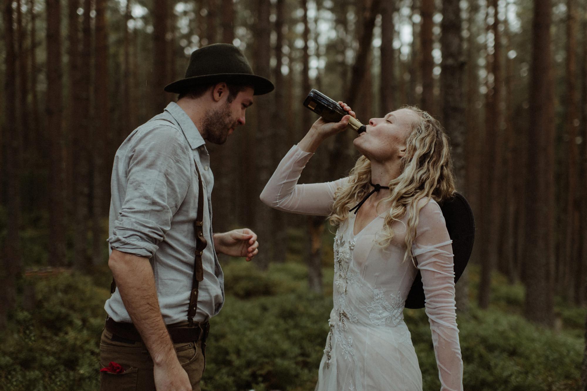 emotional wedding at inshriach house 0218