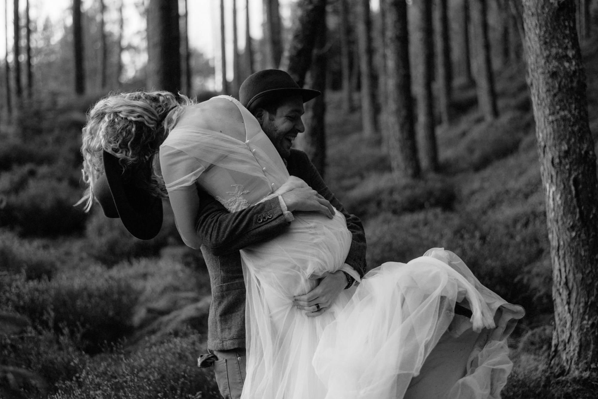 emotional wedding at inshriach house 0236