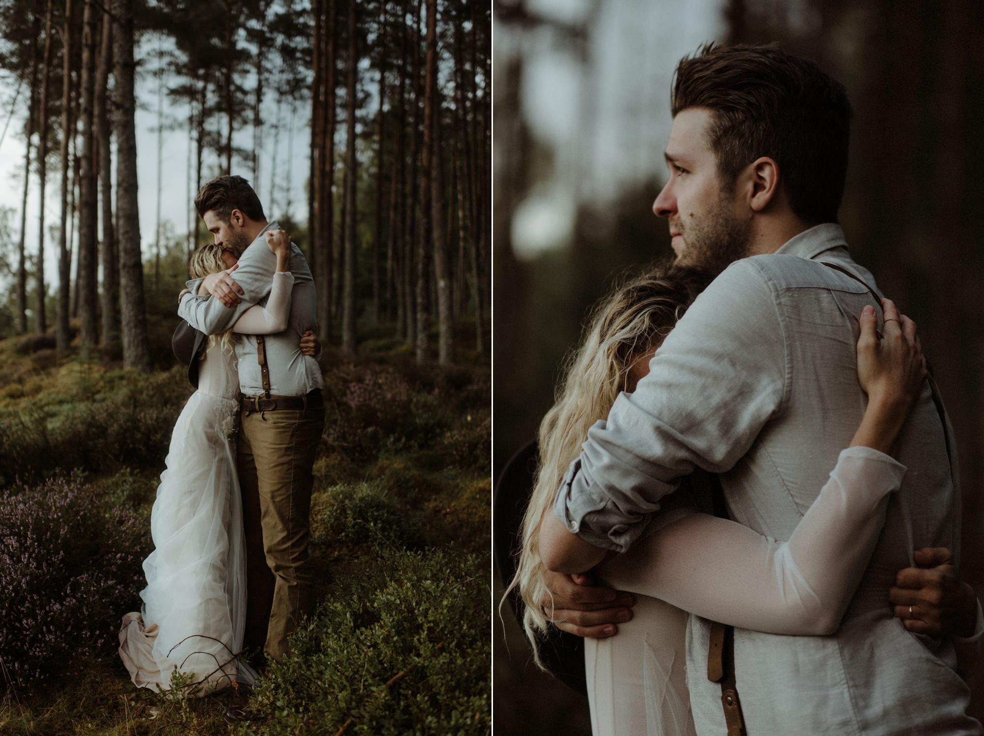 emotional wedding at inshriach house 0241