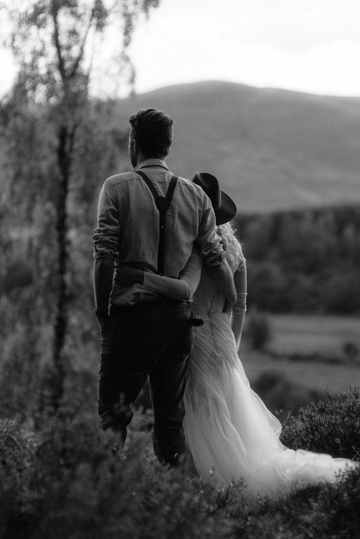 emotional wedding at inshriach house 0243