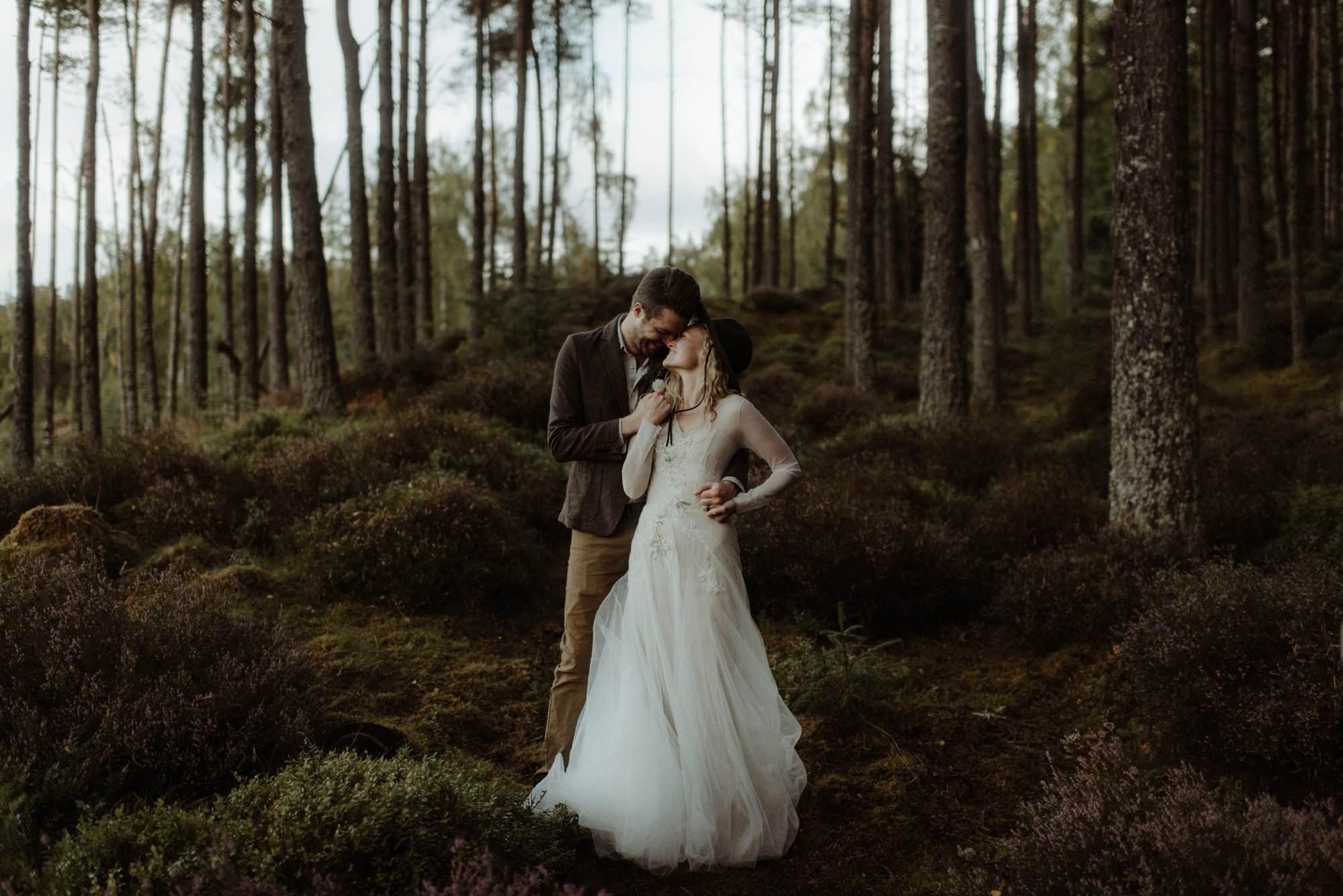 emotional wedding at inshriach house 0256