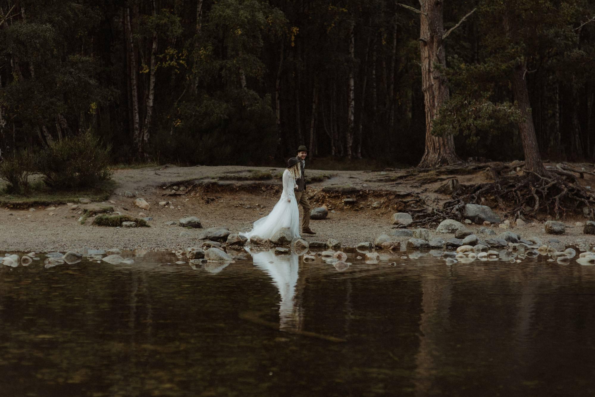 emotional wedding at inshriach house 0264