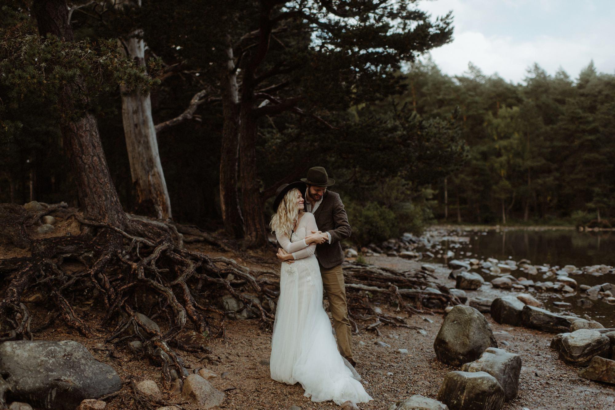 emotional wedding at inshriach house 0275