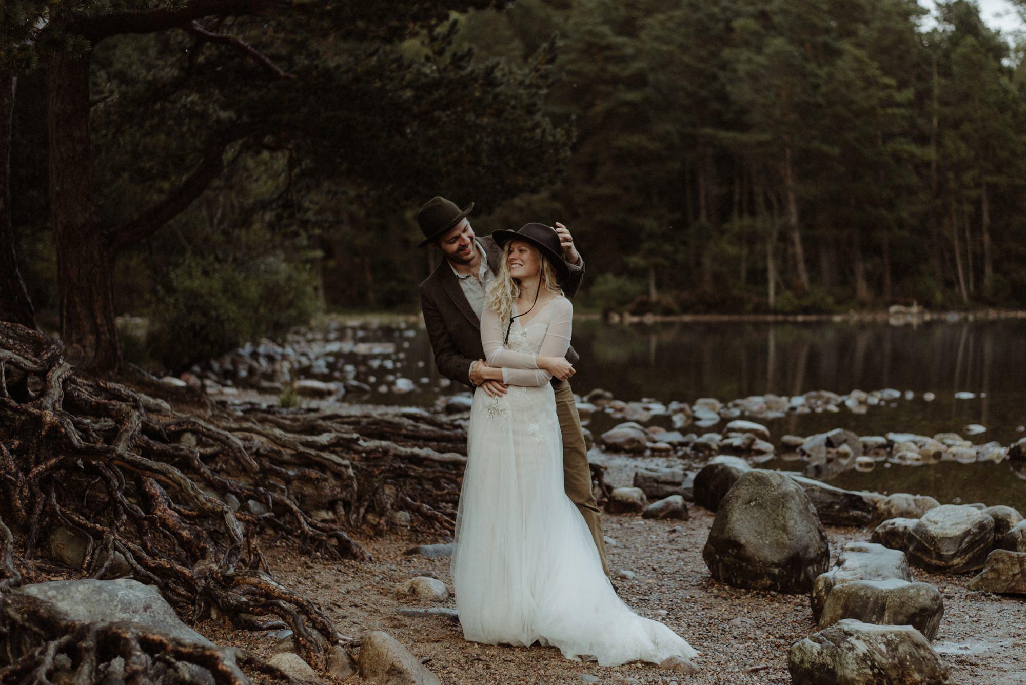 emotional wedding at inshriach house 0277