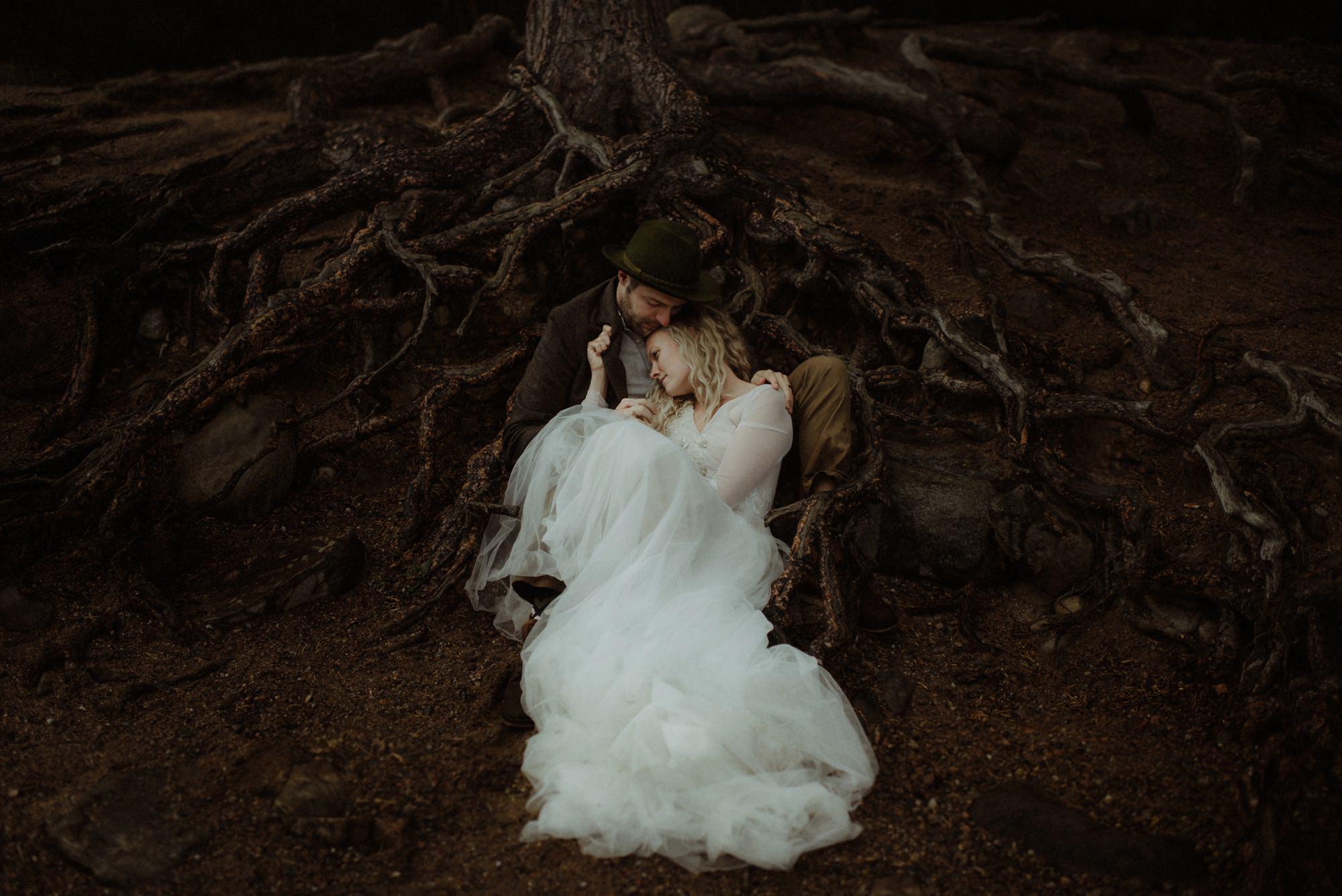 emotional wedding at inshriach house 0289