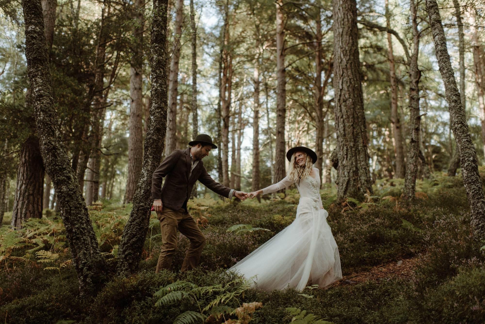 emotional wedding at inshriach house 0314