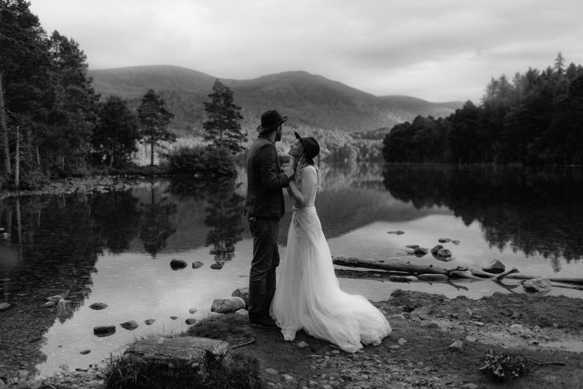 emotional wedding at inshriach house 0336