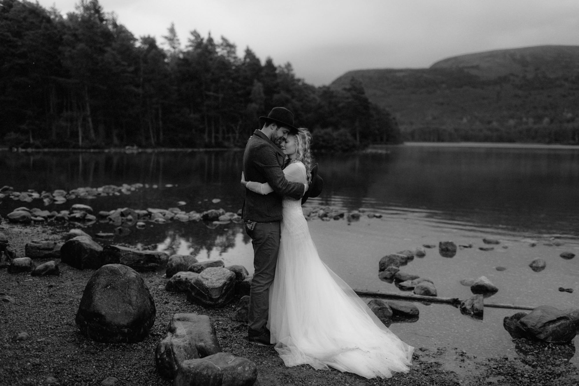 loch an eilein wedding photographer 2