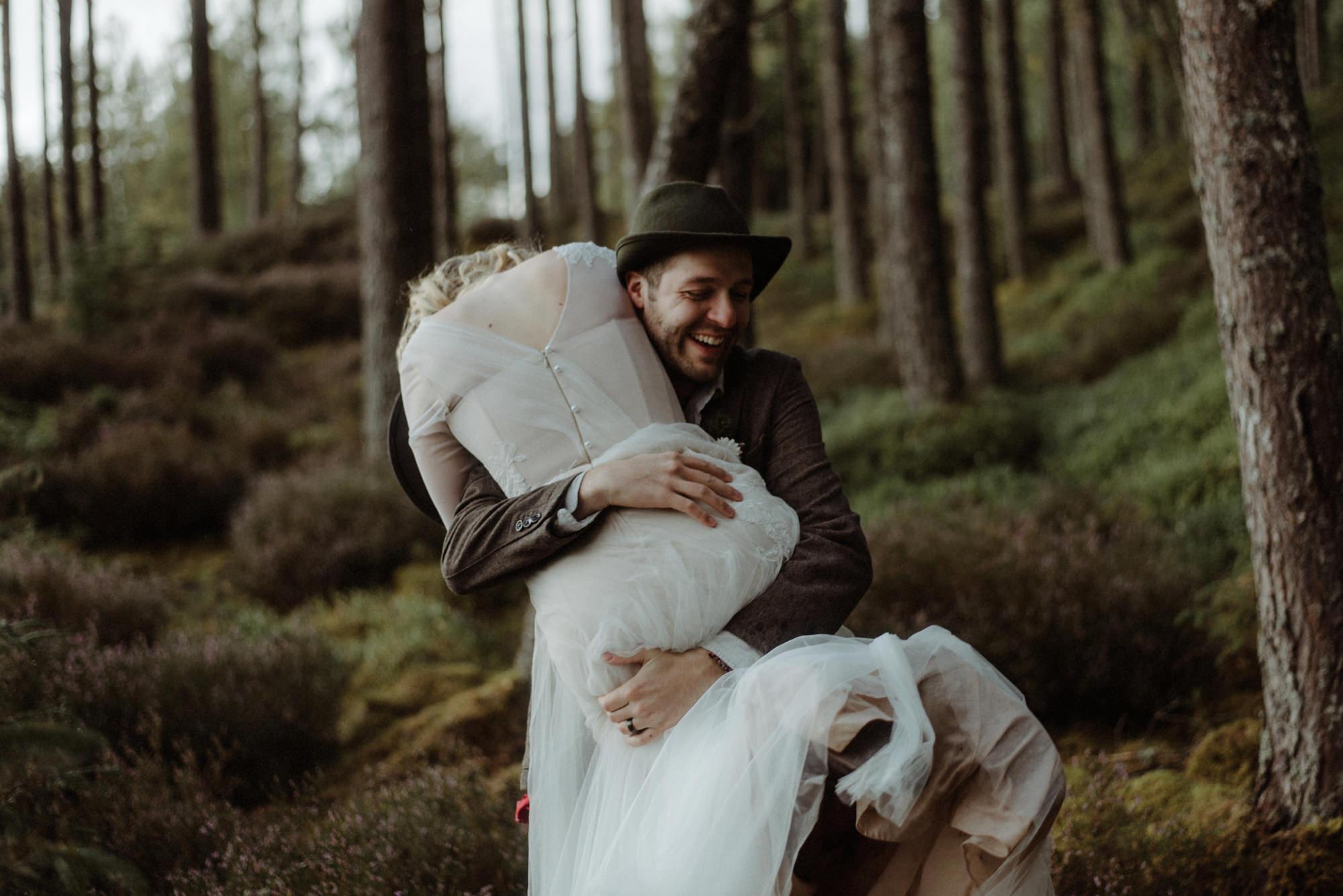 loch an eilein wedding photographer 7